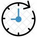 Clock Time Reload Icon