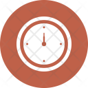 Clock Compass Hiking Icon