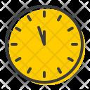 Clock Time Twelve Icon