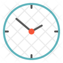 Clock Time Business Icon