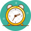 School Clock Education Icon