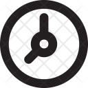 Clock Wall Watch Icon