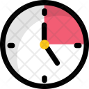 Clock Time Schedule Icon