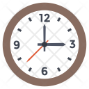 Clock Wall Time Icon