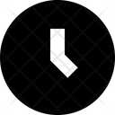 Clock Time Later Icon