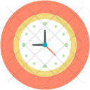Clock Time Party Icon