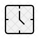 Clock Time Traveling Icon