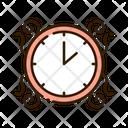 Clock Wall Clock Interior Clock Icon