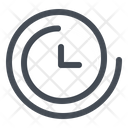 Clock Forward Time Icon