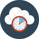 Clock Multimedia Interface Icon