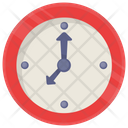 Clock Wall Timing Icon