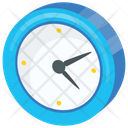 Clock Wall Timing Icon