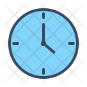 Time Clock Travel Icon