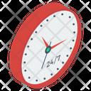 Clock Timepiece Timekeeping Device Icon