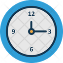 Clock Round Clock Time Icon