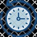 Clock History Transaction Icon