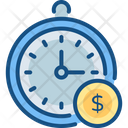 Clock Processing Schedule Icon