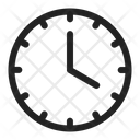 Clock Time Recent Icon