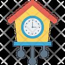 Clock Cuckoo Clock Grandfather Clock Icon
