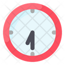 Groundhog Day Clock Watch Icon