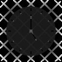 Clock Five Icon