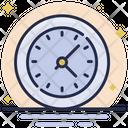 Clock Watch Optimization Icon
