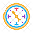 Clock Shows Time Icon