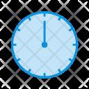 Clock Twelve Icon