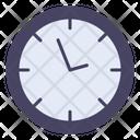 Clock Decor Home Icon