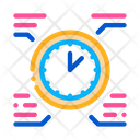 Clock Time Healthy Icon