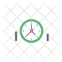 Hotel Time Restaurant Icon