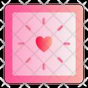 Clock Love Romance Icon