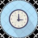 Round Clock Clock Time Icon