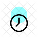 Time Clock Browser Icon