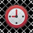 Clock School Education Icon