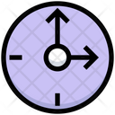 Business Financial Clock Icon