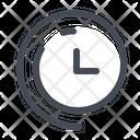 Clock Time Daylight Icon