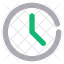 Time Clock Mobile Icon