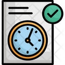 Clock Duration Testing Icon