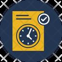 Clock Duration Testing Icon