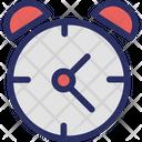 Clock Retro Timepiece Icon