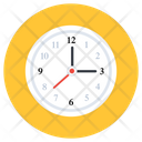 Clock Time Timepiece Icon