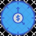 Time Coin Dollar Icon