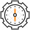 Clock Innovation Investment Icon