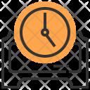 Clock Decoration Design Icon