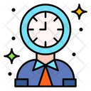 Clock Time Working Hours Icon