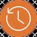 Clock Clockwise Round The Clock Icon