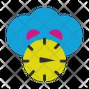 Clock Connection Web Icon