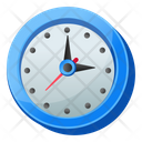 Time Clock Timepiece Icon
