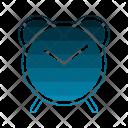 Clock Social Messaging Icon